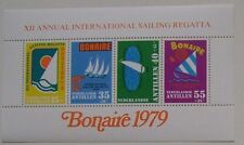 Ned. Antillen - Blok Sport, Sailing Regatta Bonaire 1979 postfris