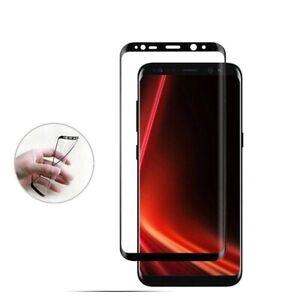 2x Panzerfolie Samsung Galaxy Note 8 Schutzfolie Full Cover Display Schwarz 3D