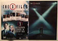 X-Files Seasons 10 & 11 Trading Cards Sealed Box PRESALE + Promo, Rittenhouse