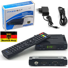 FULL HD TV Digital Sat Receiver Freesat V7 DVB-S2 USB Easy Find + HDMI Kabel  CJ