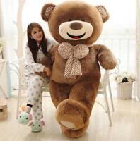 63'' Big Teddy Bear Giant Huge Stuffed Animal Plush Soft Toys Doll Birthday Gift
