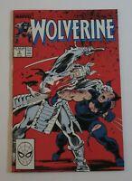 Wolverine #2 Silver Samurai Appearance 1988 Marvel Comics VF