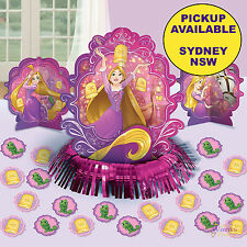 PRINCESS RAPUNZEL PARTY SUPPLIES TABLE DECORATING KIT TANGLED BIRTHDAY CONFETTI