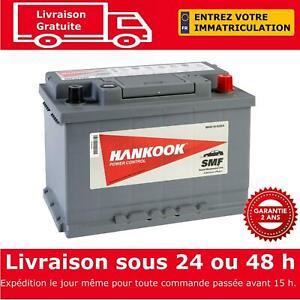 Hankook 57412 Batterie de Démarrage Pour Voiture 12V 74Ah - 277 x 174 x 190mm