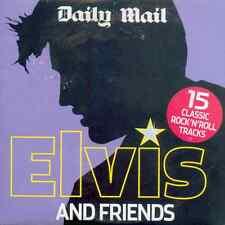 ELVIS PRESLEY & FRIENDS : 15 TRACK UK PROMO CD (2005) CARL PERKINS, CHUCK BERRY