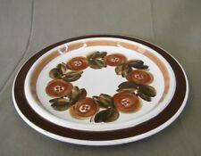 Arabia Romarin Brown Assiette Gâteau Plaque Design U. Procope Finlande
