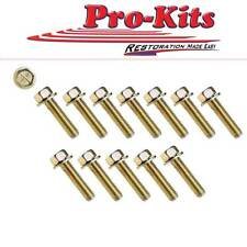 Intake Manifold Bolt Kit 1966-1974 273/318/340/360. This is a 12 piece kit.