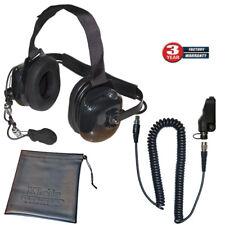 Titan Extreme Noise Carbon Fiber Headset for Kenwood TK and NexEdge Radios