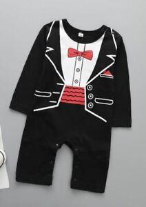 New Halloween Kids baby boy baby girl Dracular costume dress up one piece 6-24M