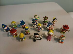 1981 Mego Corp Clown Around Clown Figurines LOT OF 16