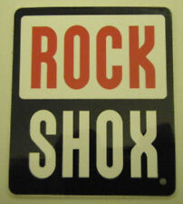 ROCK SHOX Decal  75mm x 65mm Red/Black/White