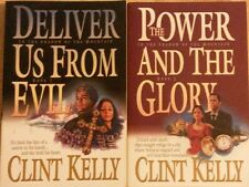 Clint Kelly In the Shadow of the Mountain set 2 books lot SIGNED copies