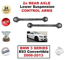 2 X REAR AXLE LEFT + RIGHT Lower CONTROL ARMS for BMW 3 SERIES E93 CABRIO 2006->