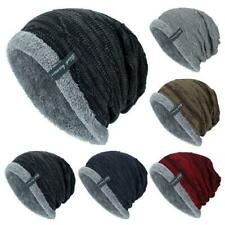 Winter Beanies Slouchy Chunky Hats for Mens Womens Warm Soft Skull Knitting Cap