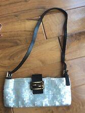 FENDI Baguette Purse Handbag Unique Sequin