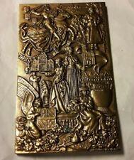 1994 médaille plaque bronze par delamarre Bourgogne