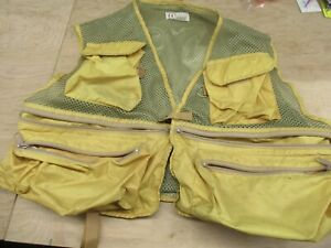 Orvis Fly Fishing Vest Lite Weight Size Large Vintage