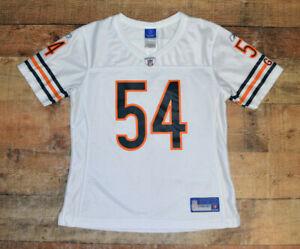 Chicago Bears Reebok Women NFL On Field Jersey Brian Urlacher Sz Medium Sewn B14