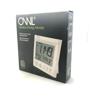 OWL Wireless Energy Monitor Brand New Sealed Boxed Battery Operated 17080 CP