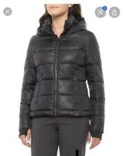 Crystal by Skea Trois  Down Ski Jacket Black Size  Large ~NWT