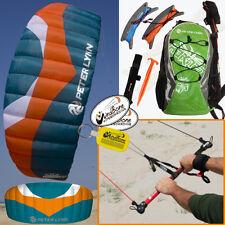 Peter Lynn Hornet 5M Foil Power Kite Kiteboarding 4-Line Fixed Control Bar 5.0