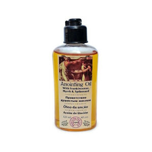 Certified Holy Frankincense, Myrrh and Spikenard 120ml Anointing Oil from Israel
