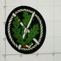 German Mountain Troop Jagers Patch Hand Embroidered Marksman Sniper Sharpshooter