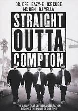 Straight Outta Compton,Movie,DVD (2015) |R| |WS| Biography NWA Easy E Free SH