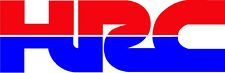 "#716 (2) 4.5"" HONDA Racing HRC superbike motorcycle decal sticker vinyl CBR CBX"