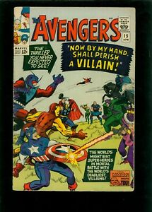 Avengers 15 VG 4.0