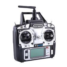 Flysky FS-T6 -RB6 FS Fernsteuerung RC 2.4 GHz 6 Kanäle Sendegeräte mit Empfänger