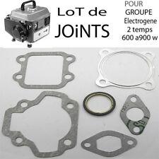 lot 6 joints  groupe élèctrogène moteur 2 TEMPS  600 700 900 Watts