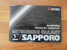 MITSUBISHI SAPPORO HANDLEIDING MANAUL DU CONDUCTEUR 1977 CAR AUTO