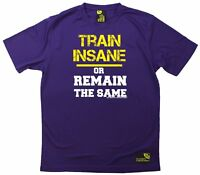 SWPS Train Insane Or Remain The Same Dry Fit Sports T-SHIRT