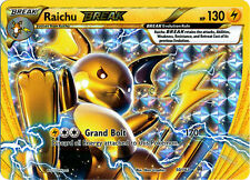 Pokemon XY BREAKthrough Raichu BREAK 50/162 Rare Card