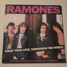 RAMONES - TODAY YOUR LOVE, TOMORROW THE WORLD - 2015 LP LTD. EDITION