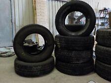 Set of 6 Michelin LTX A/T2 245/75R17 121R Tires