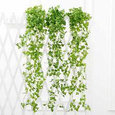 Grün Künstliche Rattan Fake Pflanze Efeu Blatt Vine Fake Foliage EfeubHei�Ÿ