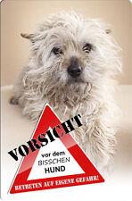 CAIRN Terrier - A4 Metall Warnschild Hundeschild SCHILD Türschild - CRT 05 T3