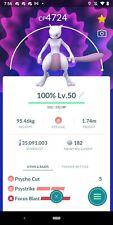 Pokemon Account Go Level 50! 1810 Shiny and 35 Million Stardust! 330 Million XP!