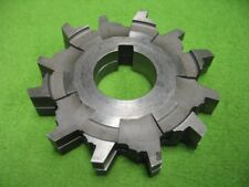 2 Interlocking Milling Cutter 12T 3-13/16 x .82 x 1-1/4