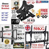 """TV Wall Bracket Mount Fixed/Tilt/Swivel For 3D LCD LED 10 20 30 50 55 60 65 70"""""""