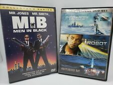 Will Smith Dvd Lot: 3 Will Smith dvds & 1 other Sci-fi film. Very Good Condition