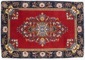 Traditional Design Small Floral 2X3 Extra KPSI Oriental Rug Home Decor Carpet