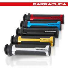 COPPIA MANOPOLE [BARRACUDA] RACING - UNIVERSALI / L.120 mm - BLU - N1026U
