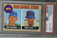 New listing 1968 Topps Nolan Ryan Rookie Card #177 PSA Authentic RC ((Excellent Price))