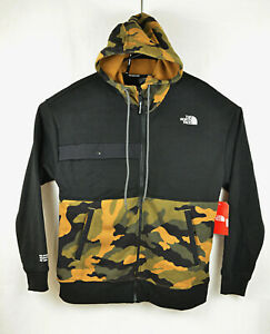 The North Face NSE Graphic Camo Full-Zip Mens Hoodies Urban Explore Size M