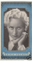 ERIKA HELMKE ACTRESS ACTRICE GERMANY DEUTSCHLAND ALLEMAGNE CANADA IMAGE CARD 30s