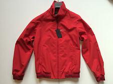 PRADA Giacca Giubbotto, Rosso 50, ORIGINALE, PRADA Luxury red jacket size 50 NEW
