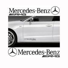 2x Mercedes-Benz AMG 28x5cm Aufkleber Car Window Bumper Sticker Vinil 272
